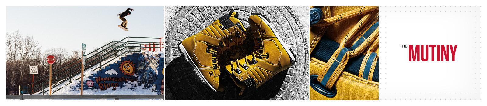 Мужские снобордические ботинки