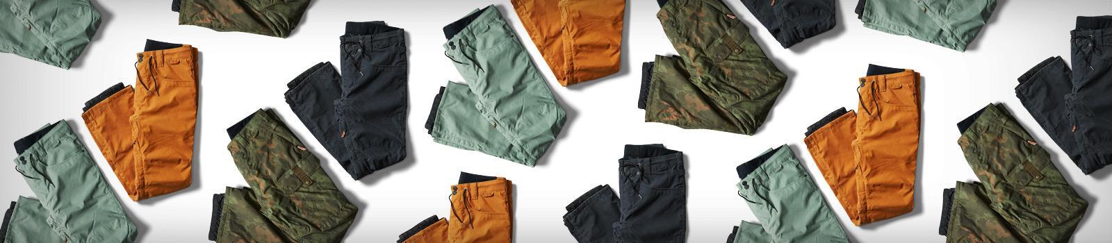 Мужские снобордические штаны