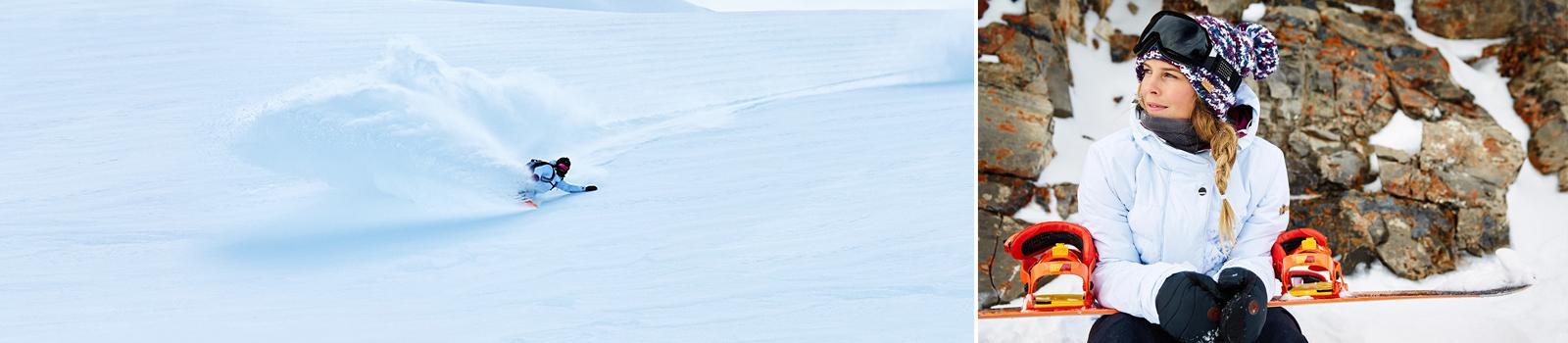 Женские сноубордические крепления