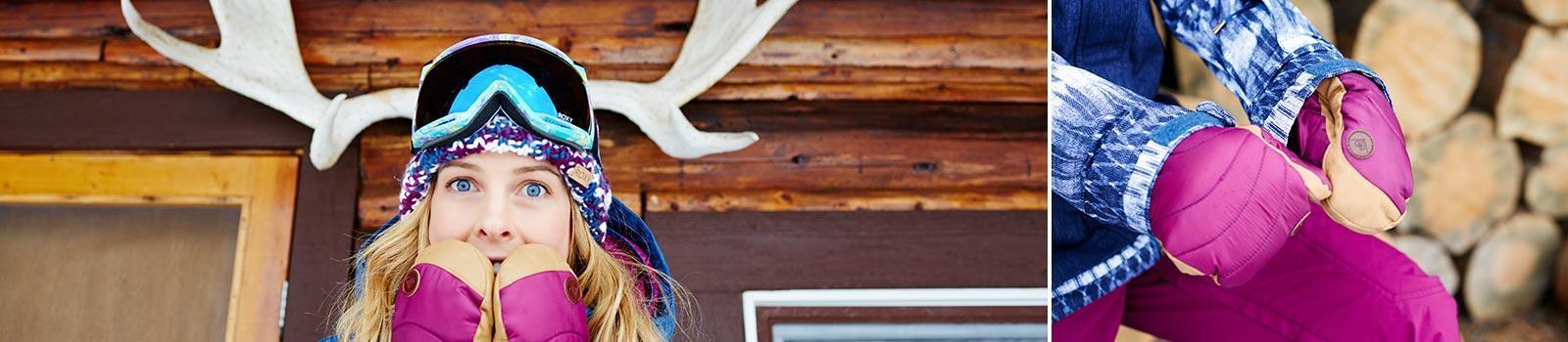 Купить Женские Перчатки для сноубординга