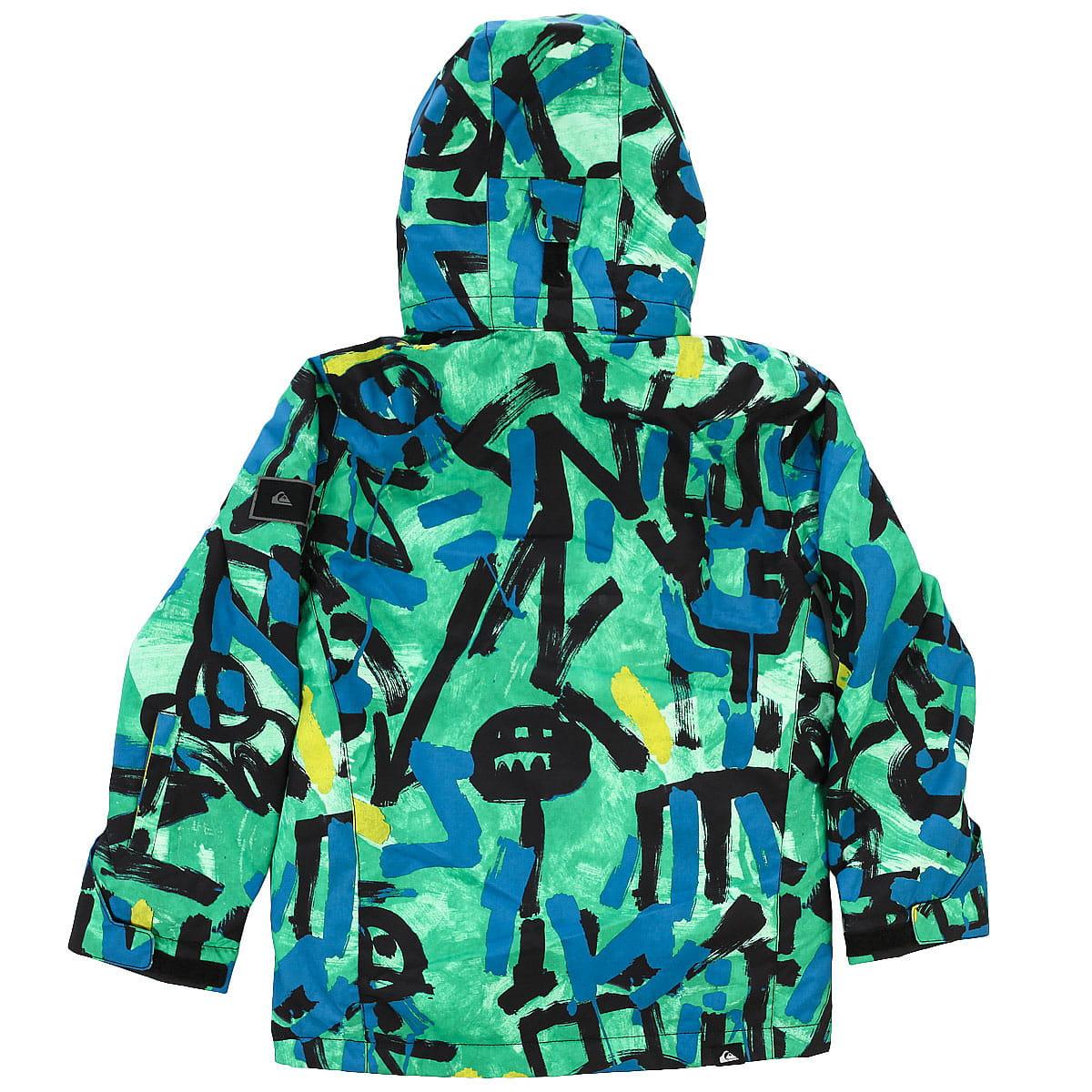 cef866d0351f Товар  Куртка сноубордическая подростковая Quiksilver MISSION PR YO J B  SNJT GNK6. Таблица размеров