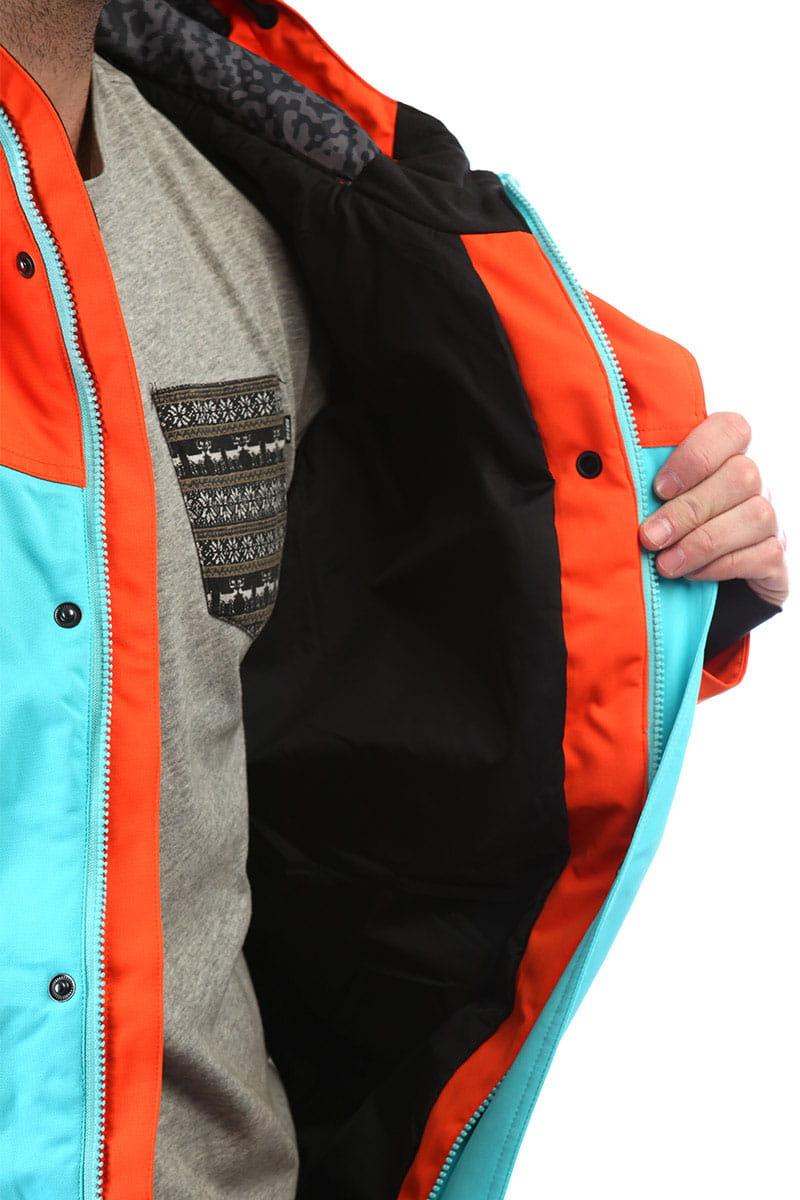 Комбинезон сноубордический Billabong Fuller Suit Puffin Orange