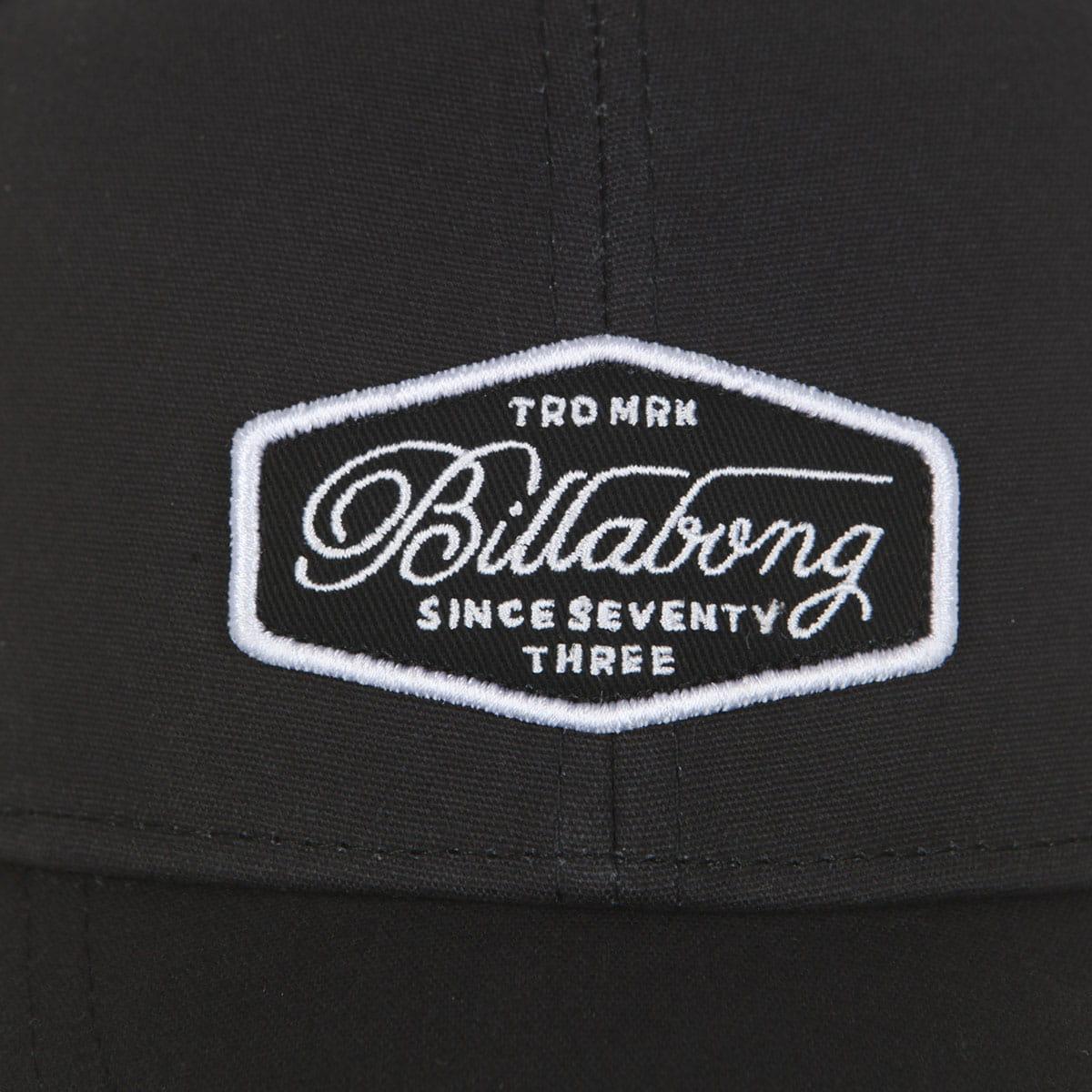 Мужская бейсболка с сеткой Billabong Walled Trucker Black/White