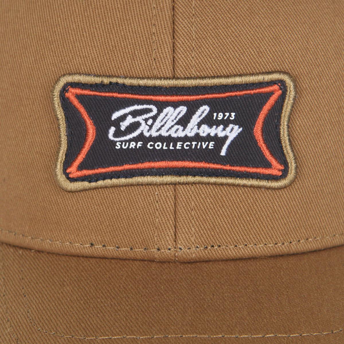 Мужская классическая бейсболка Billabong Walled Snapback Carmel