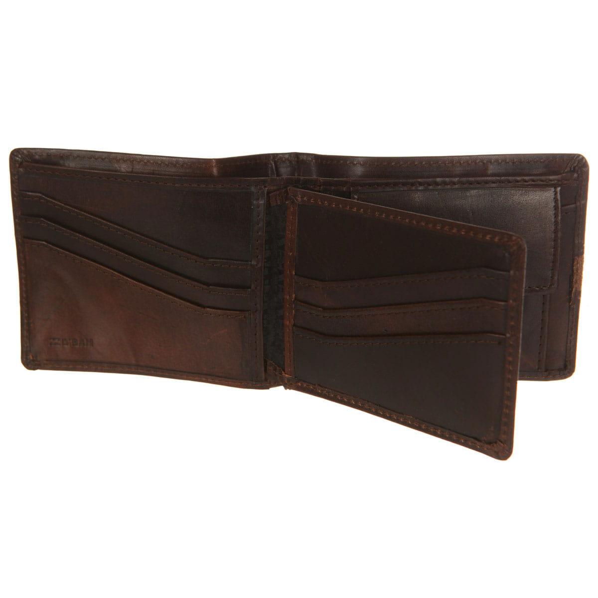 Мужской кошелек Billabong Dbah Leather Chocolate