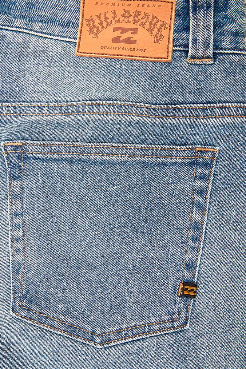 Джинсы прямые Billabong Outsider Jean Indigo Wash