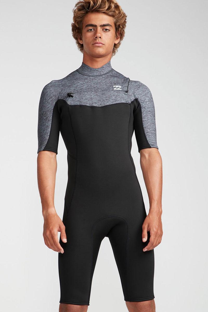 Мужской гидрокостюм с молнией на груди Abso 2/2 мм