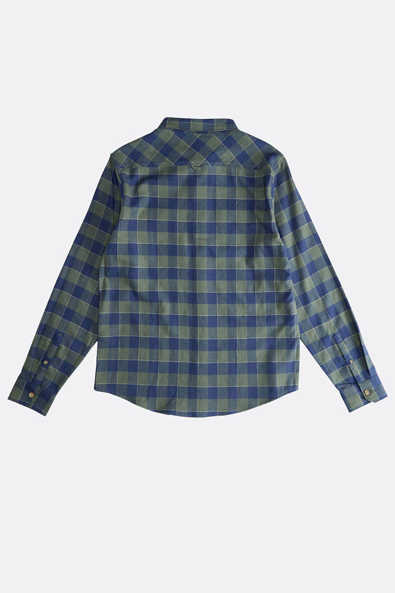 Рубашка в клетку  All Day Flannel Ls Forest