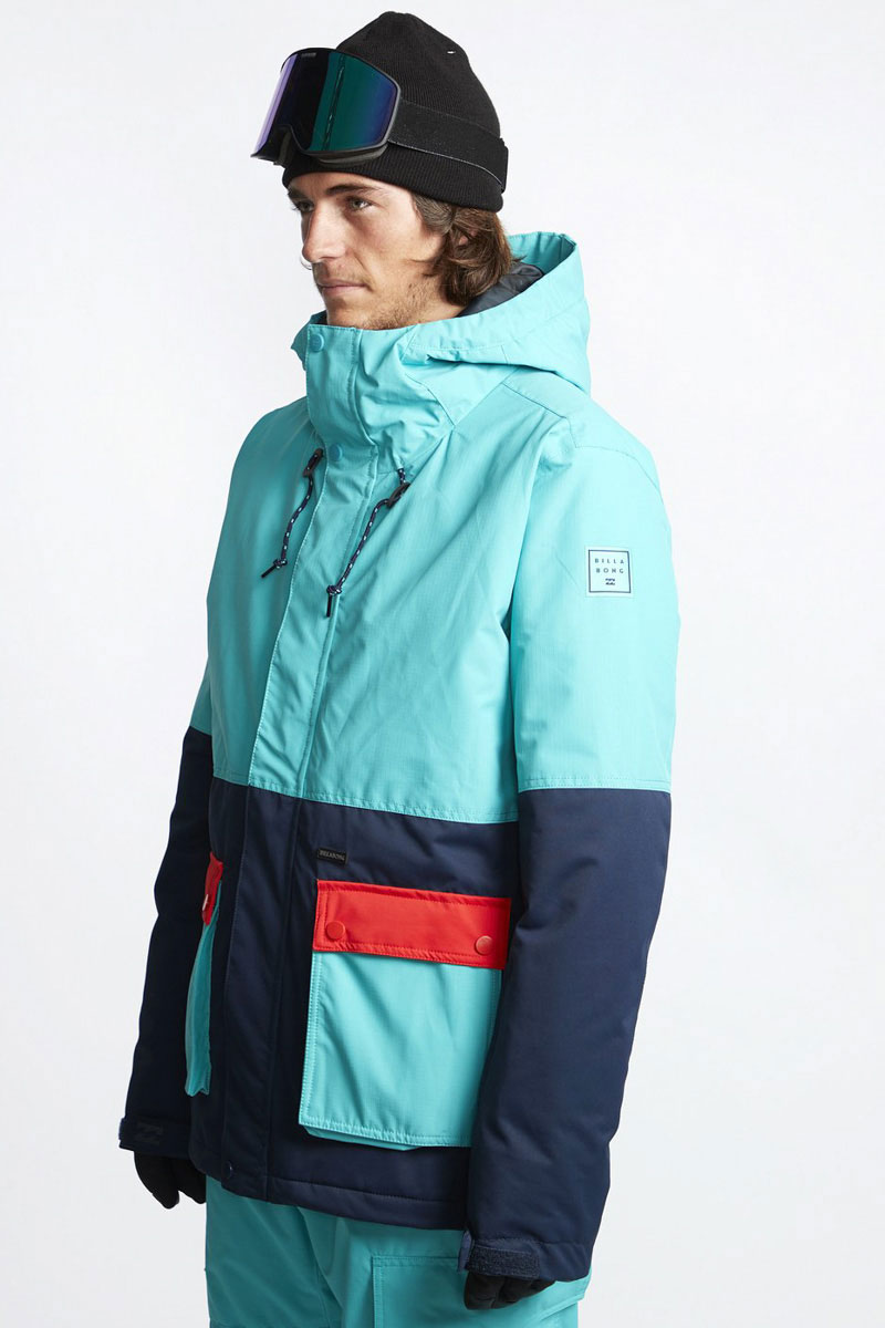 Куртка утепленная Billabong Fifty 50 Aqua