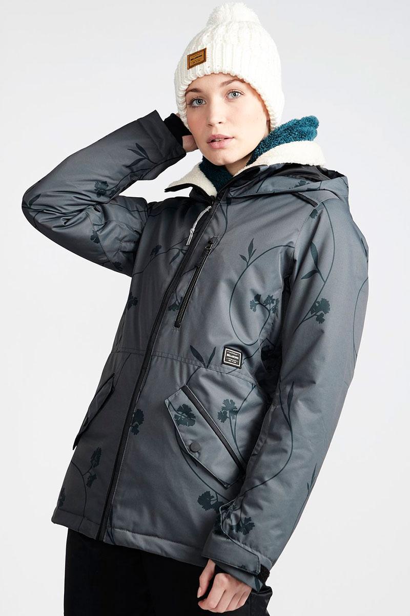 Куртка утепленная женская Billabong Jara Iron