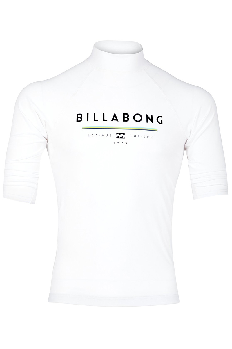 Рашгард с короткими рукавами Billabong Unity