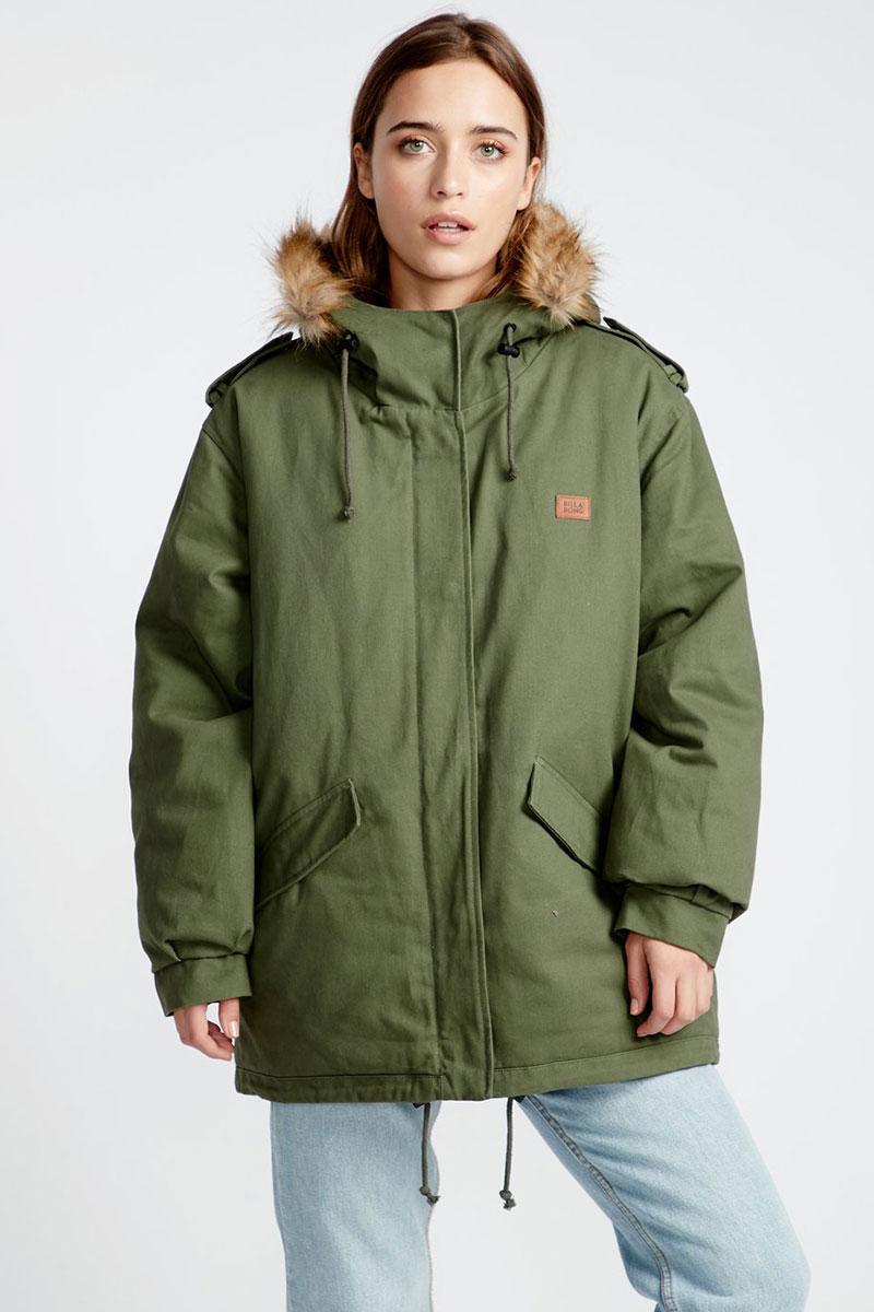 Куртка зимняя женская Billabong Westwood Olive
