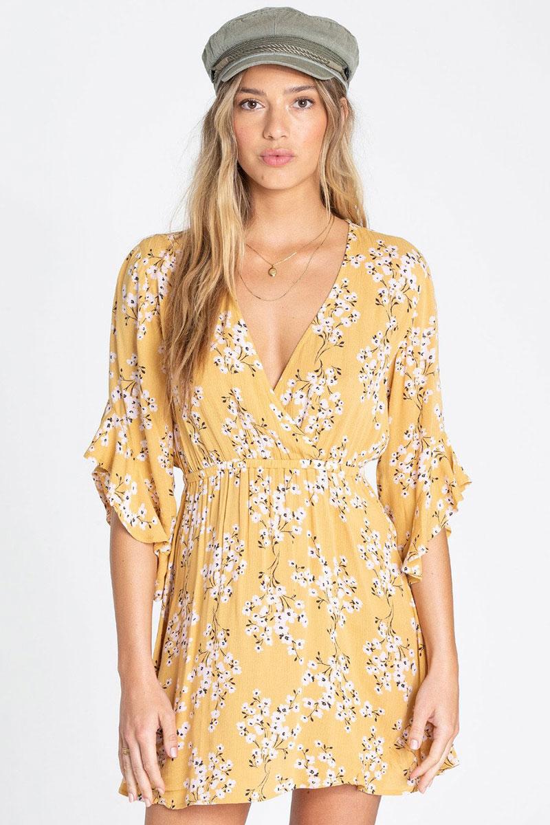 Платье женское Billabong Love Light Golden Hour