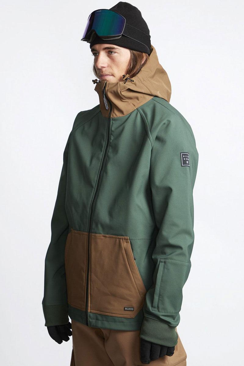 Мужская сноубордическая куртка-софтшелл Downhill