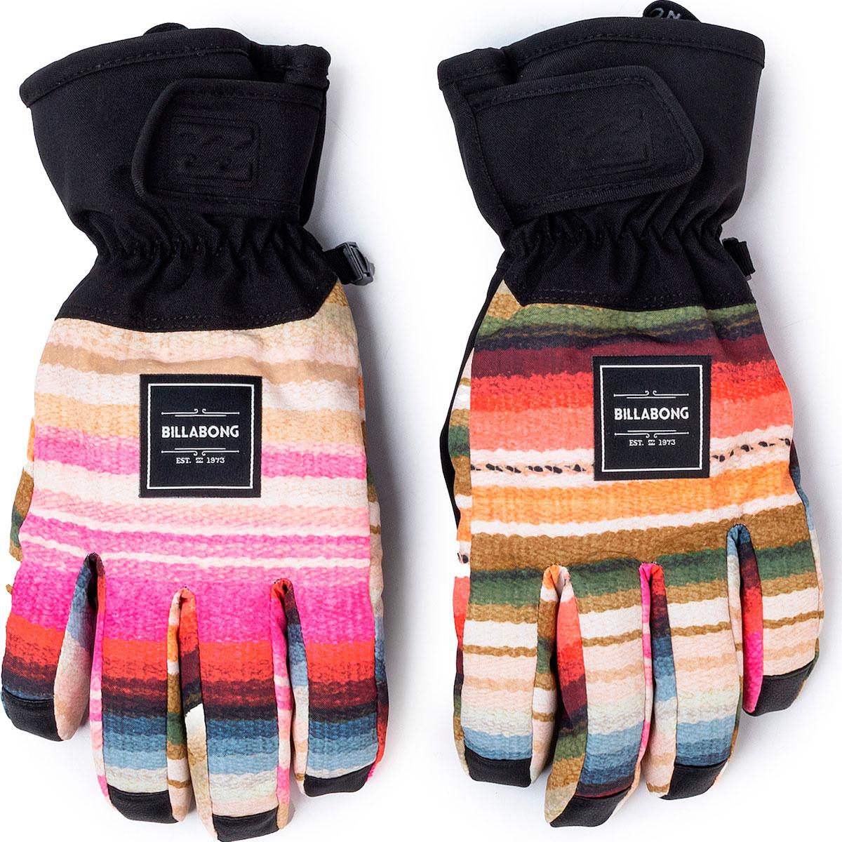 Перчатки женские Billabong High Five Gloves Multi Мультиколор