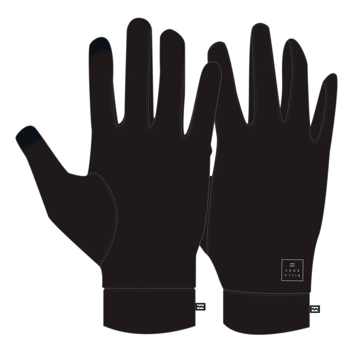 Перчатки Billabong Capture Undergloves Black