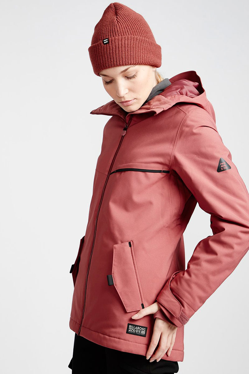 Куртка сноубордическая женская Billabong Eclipse Vintage Plum