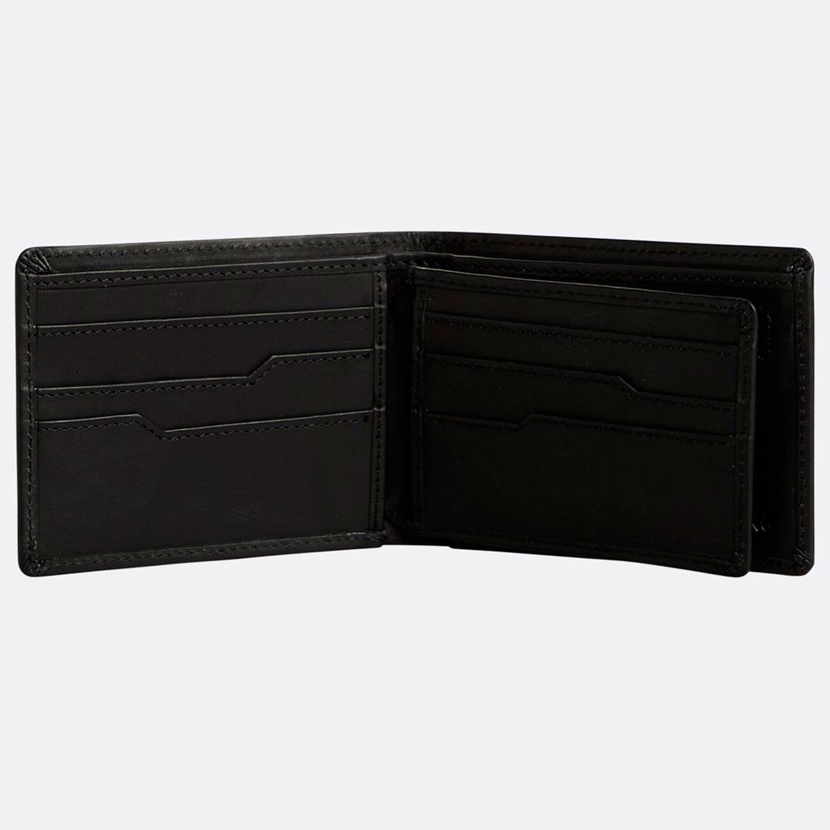 Кошелек Billabong Vacant Leather Black Чёрный