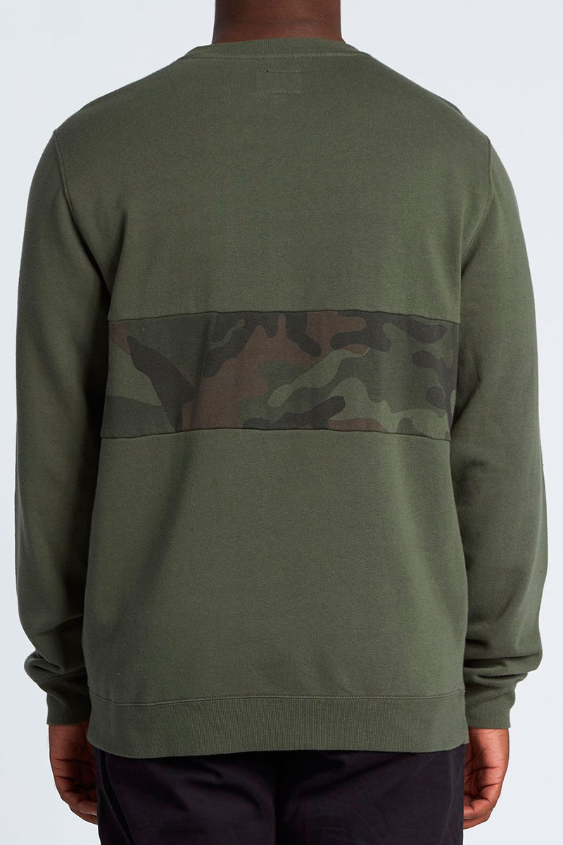Толстовка Billabong Wave Washed Crew Camo