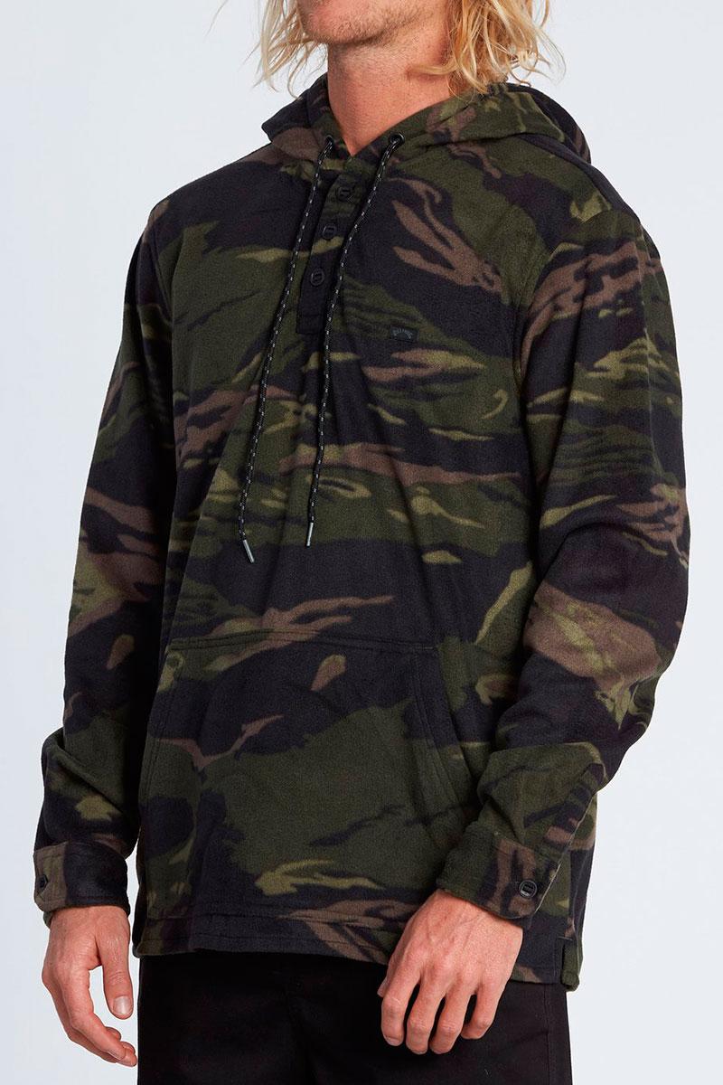 Флисовая куртка-рубашка с капюшоном Billabong Furnace Anorak
