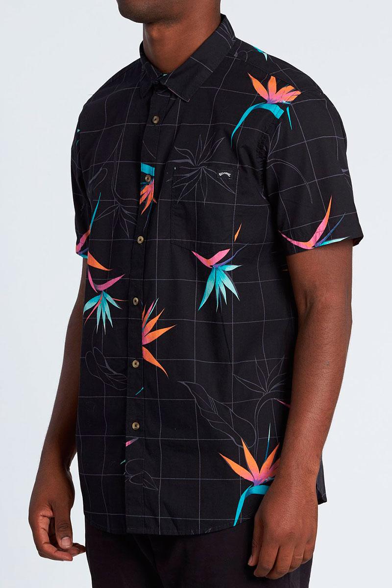 Рубашка с коротким рукавом Billabong Sundays Floral