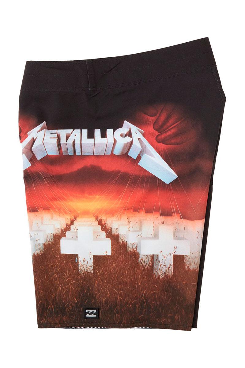 Бордшорты Billabong Metallica Master Of Puppets