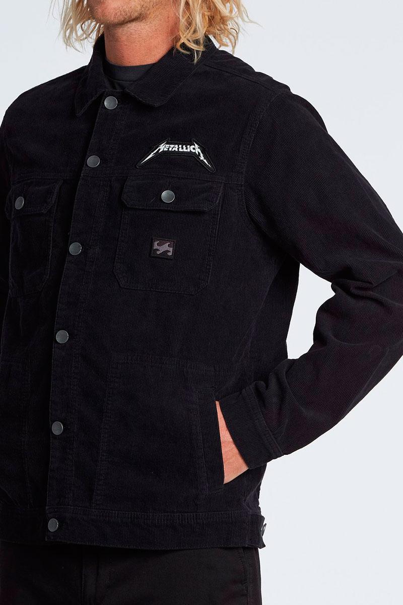Куртка джинсовая Billabong Straw Jkt Washed Black