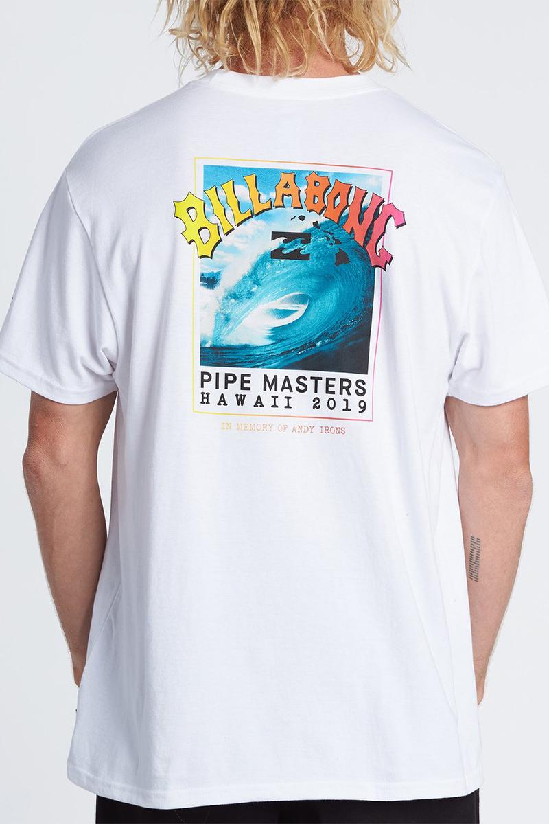 Футболка Billabong Pipe Masters White-19