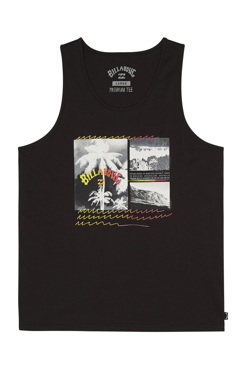Майка Billabong Crash Tank Black