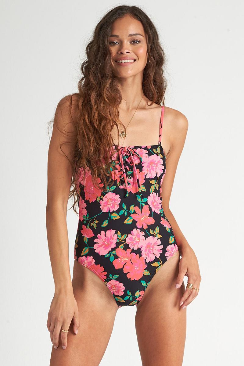 Слитный купальник с цветочным узором Sweet Song 1 Pc