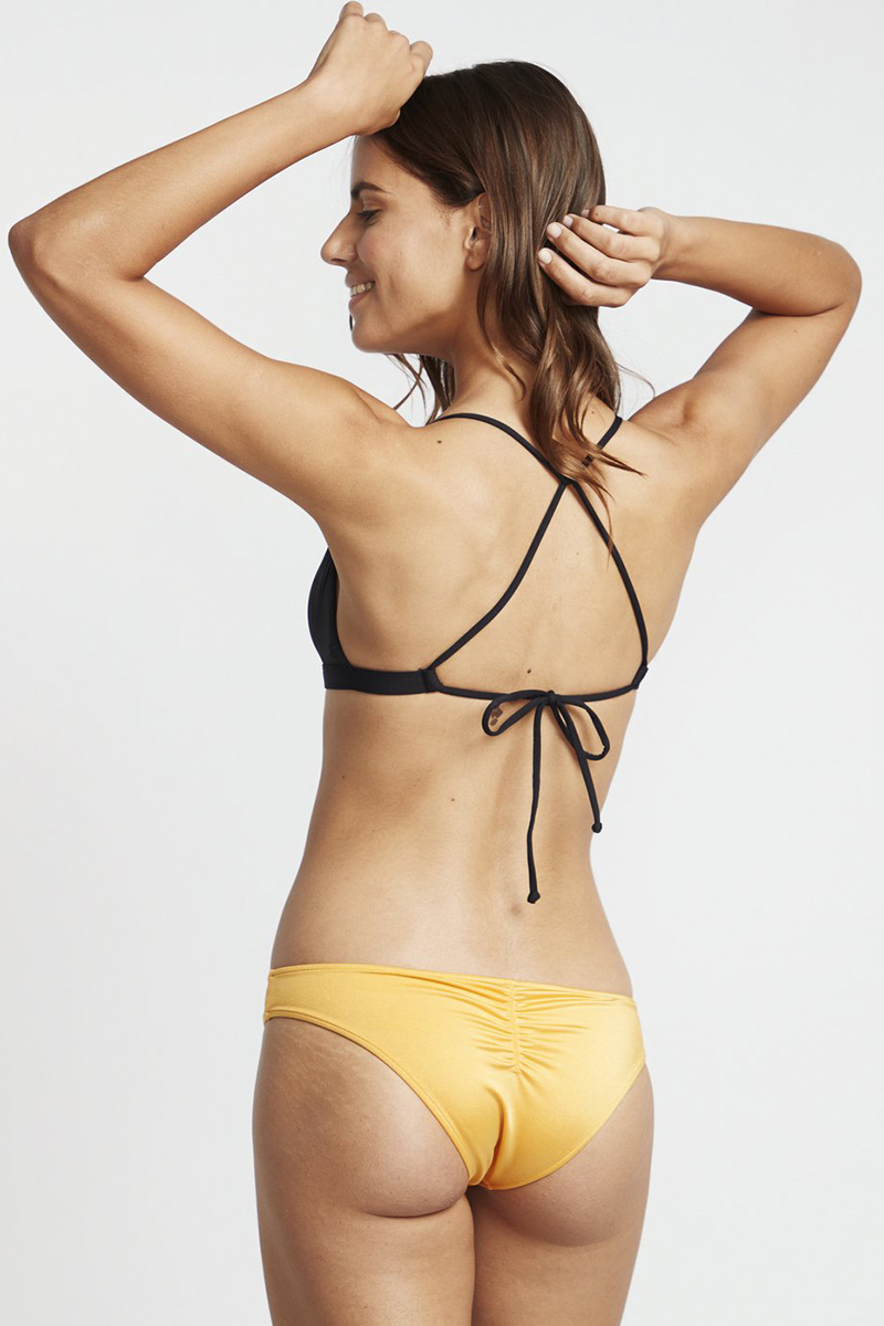 Бюстгалтер женский Billabong S.s Crossed Back Tri Black Pebble