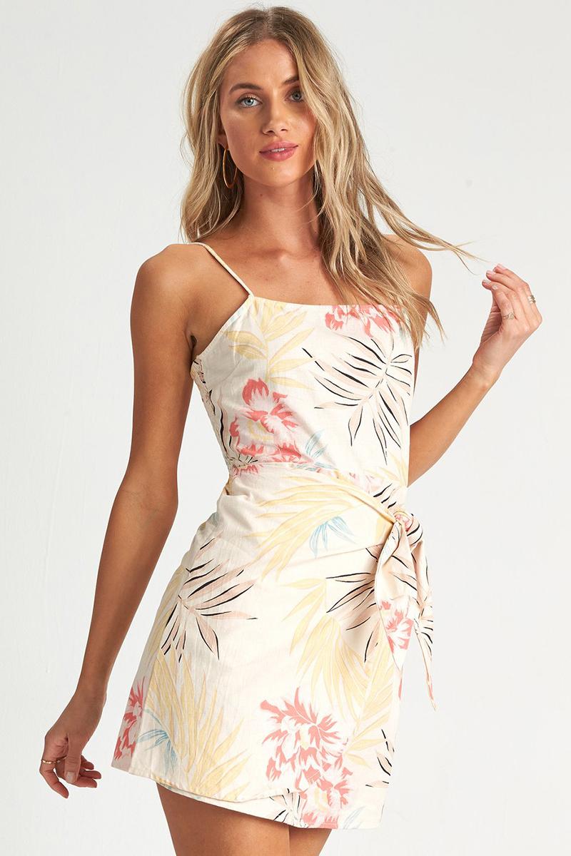 Платье с цветочным принтом Island Hopper