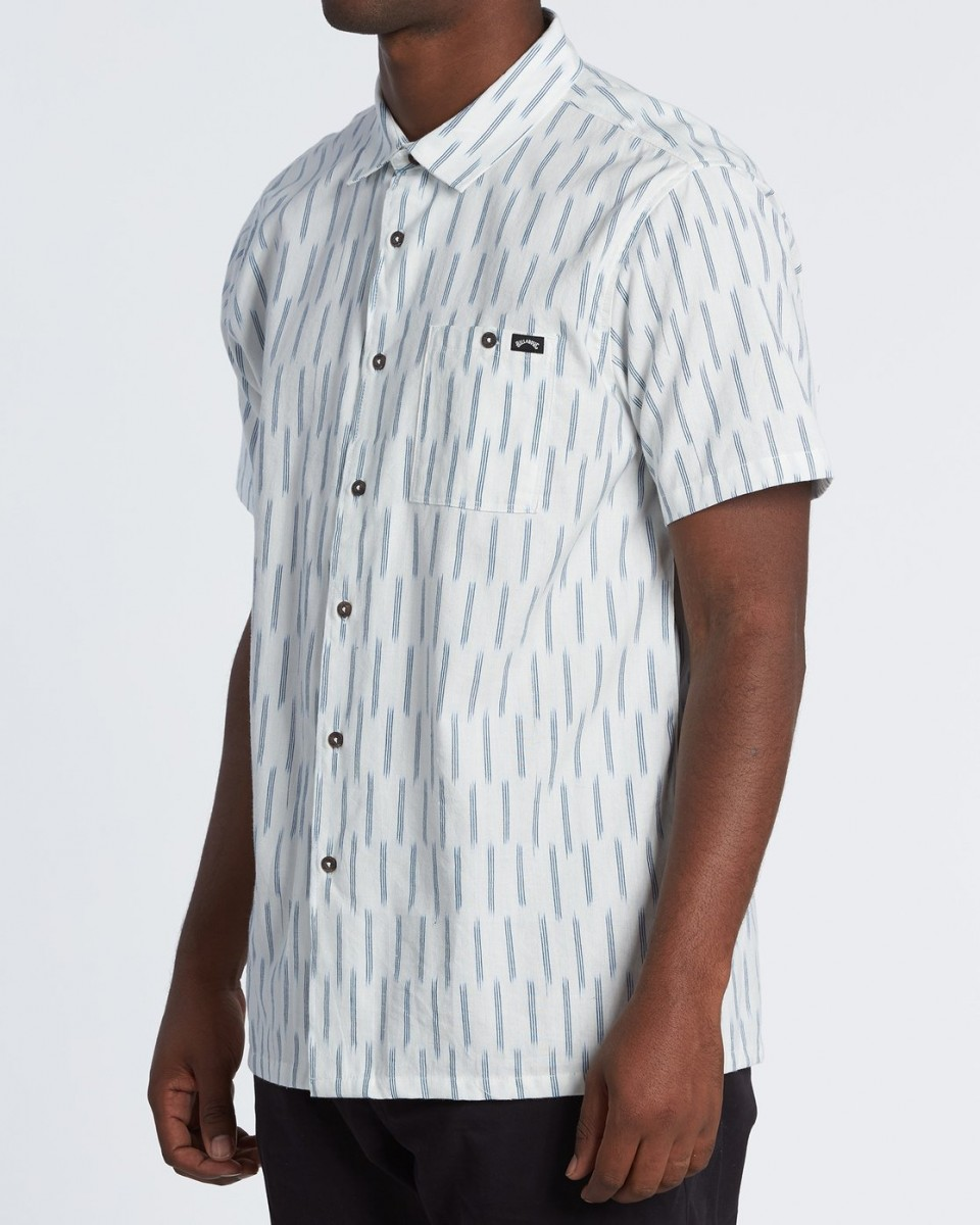Рубашка с коротким рукавом Sundays Jacquard