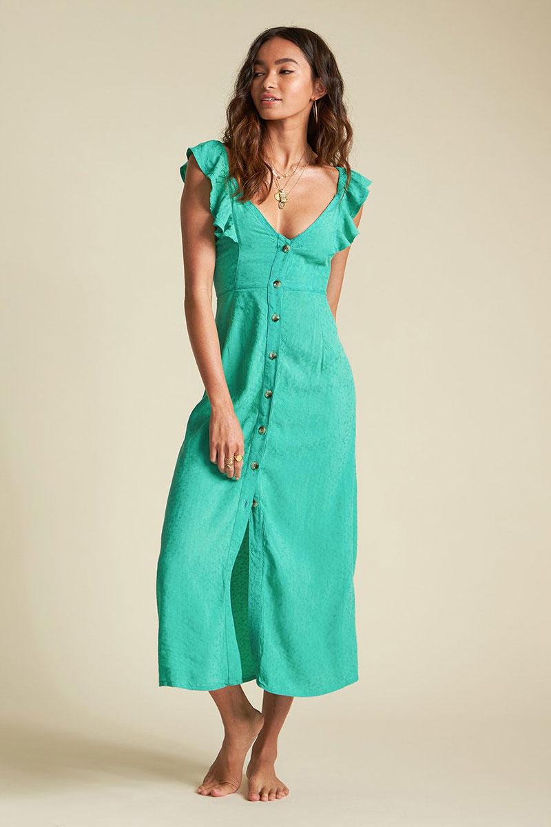 Платье женское Billabong Love Tripper Verde