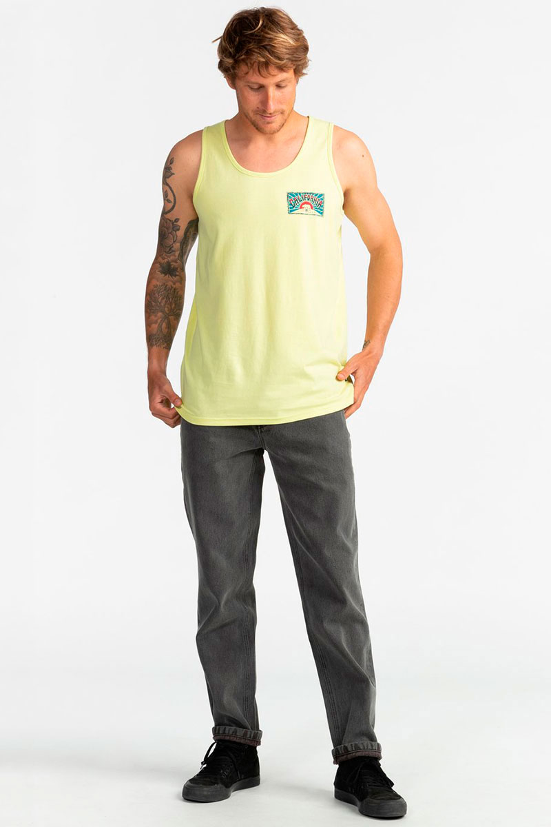 Майка Billabong Dreamy Place Tank Neo Lemon