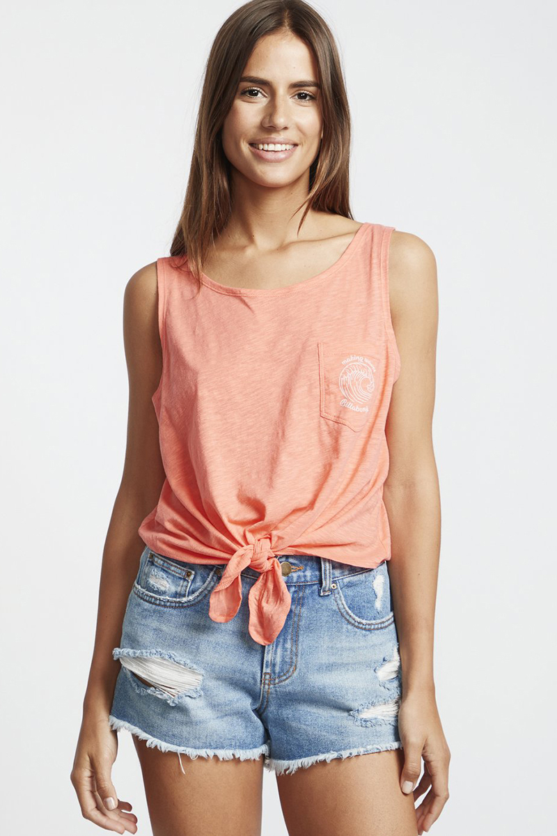 Майка женская Billabong Summer Only Coral Kiss-62
