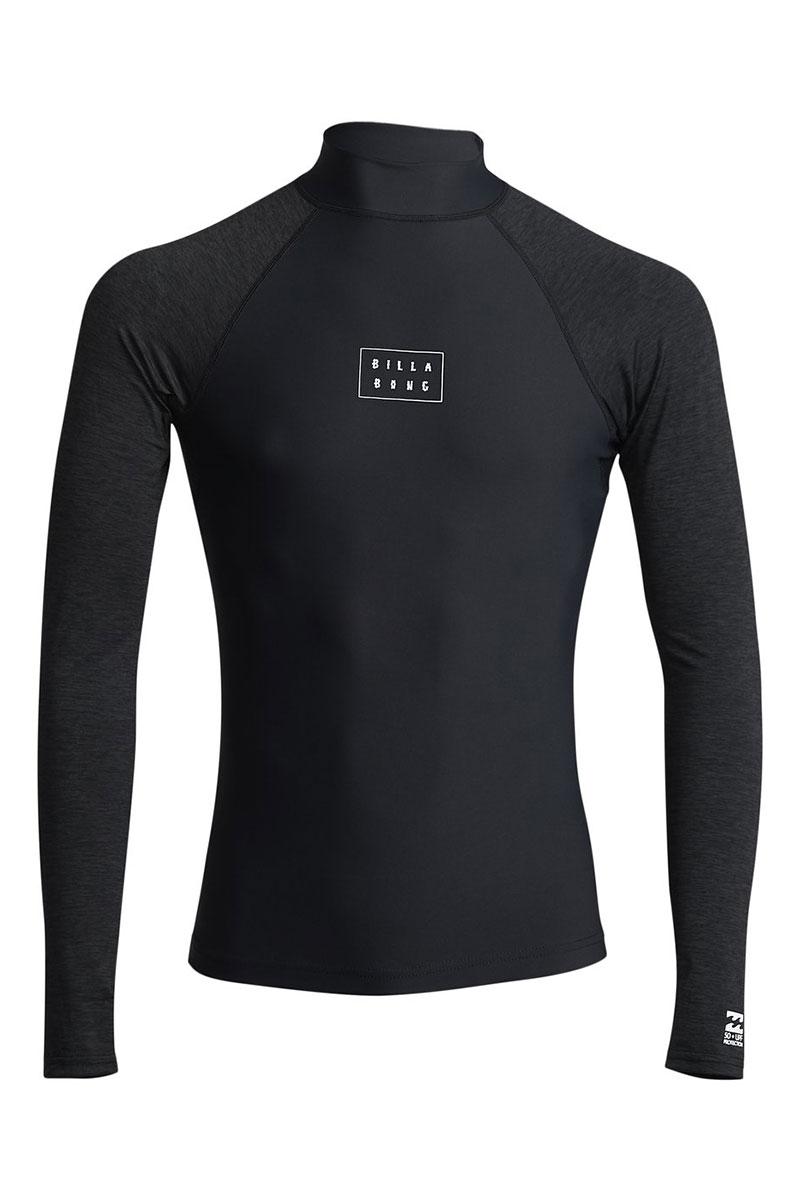 Футболка Billabong для плавания Contrast Ls Black
