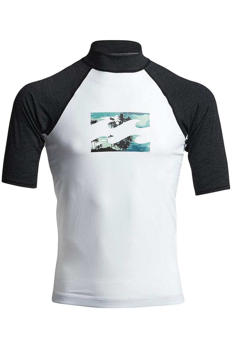 Футболка Billabong Для Плавания Team Wave Ss White
