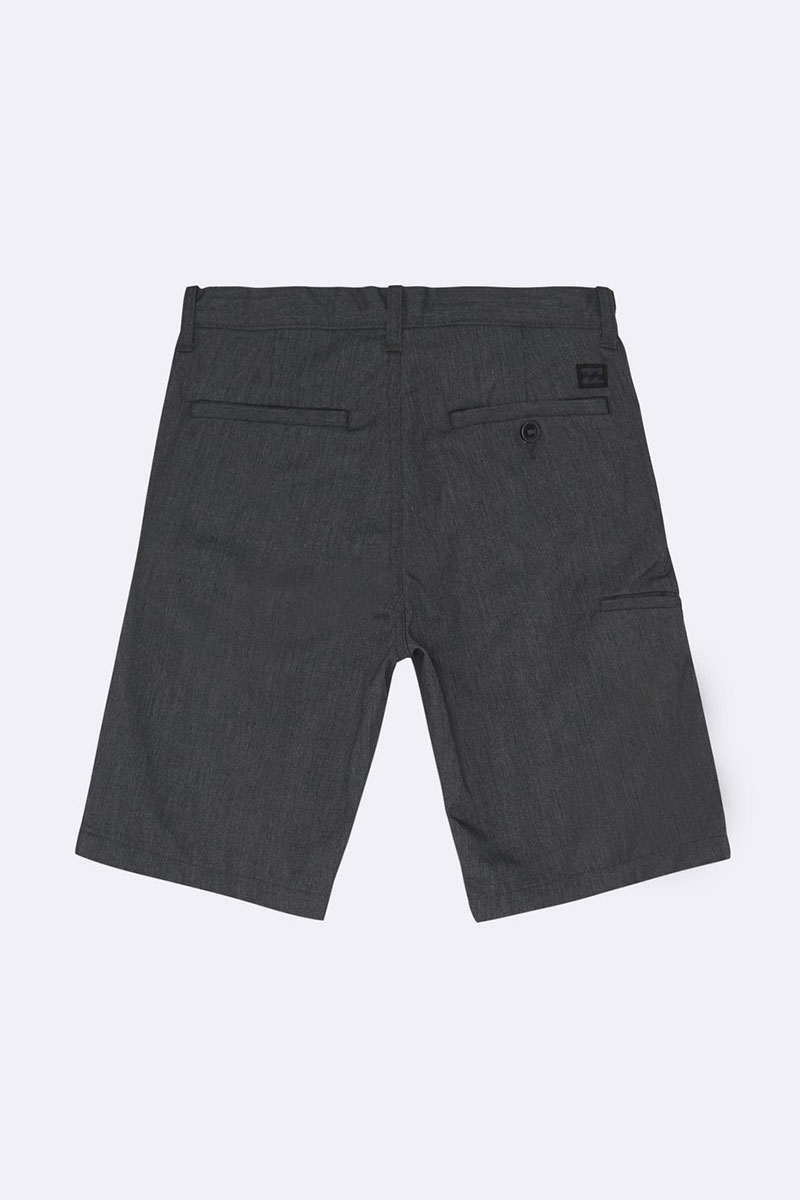 Шорты детские Billabong Carter Boy Black Heather