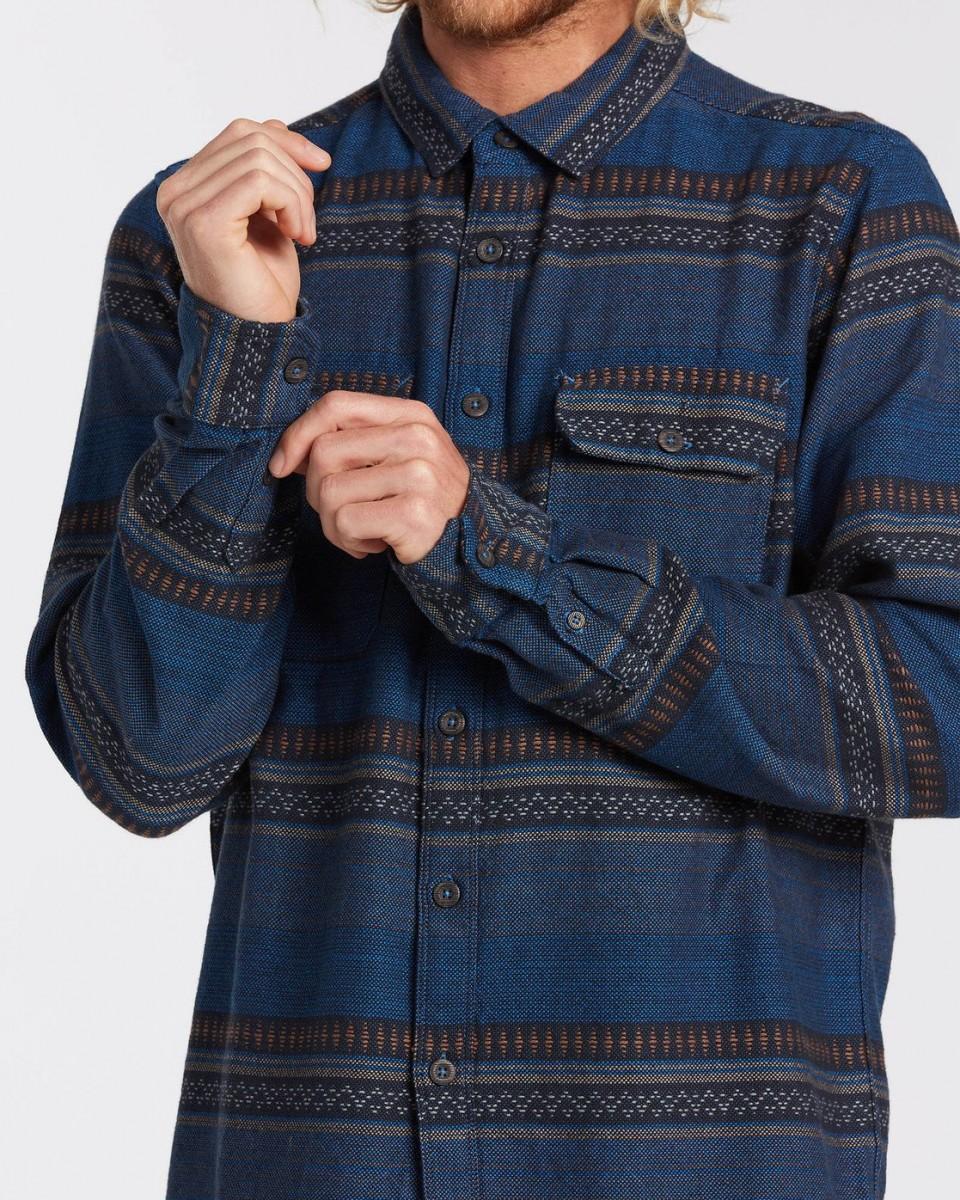 Мужская рубашка с длинным рукавом Desert Seas Jacquard