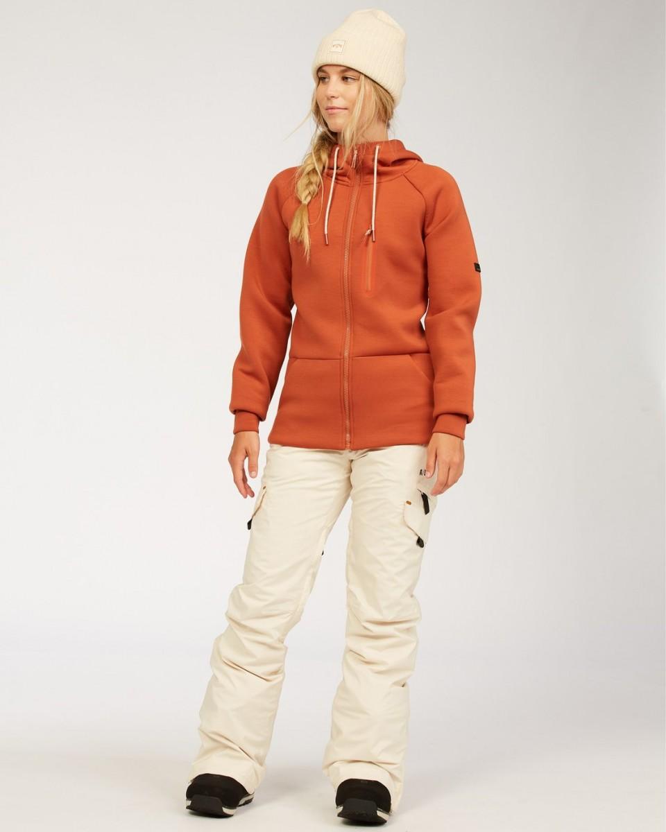 Женская сноубордическая толстовка Adventure Division Freezing Fog