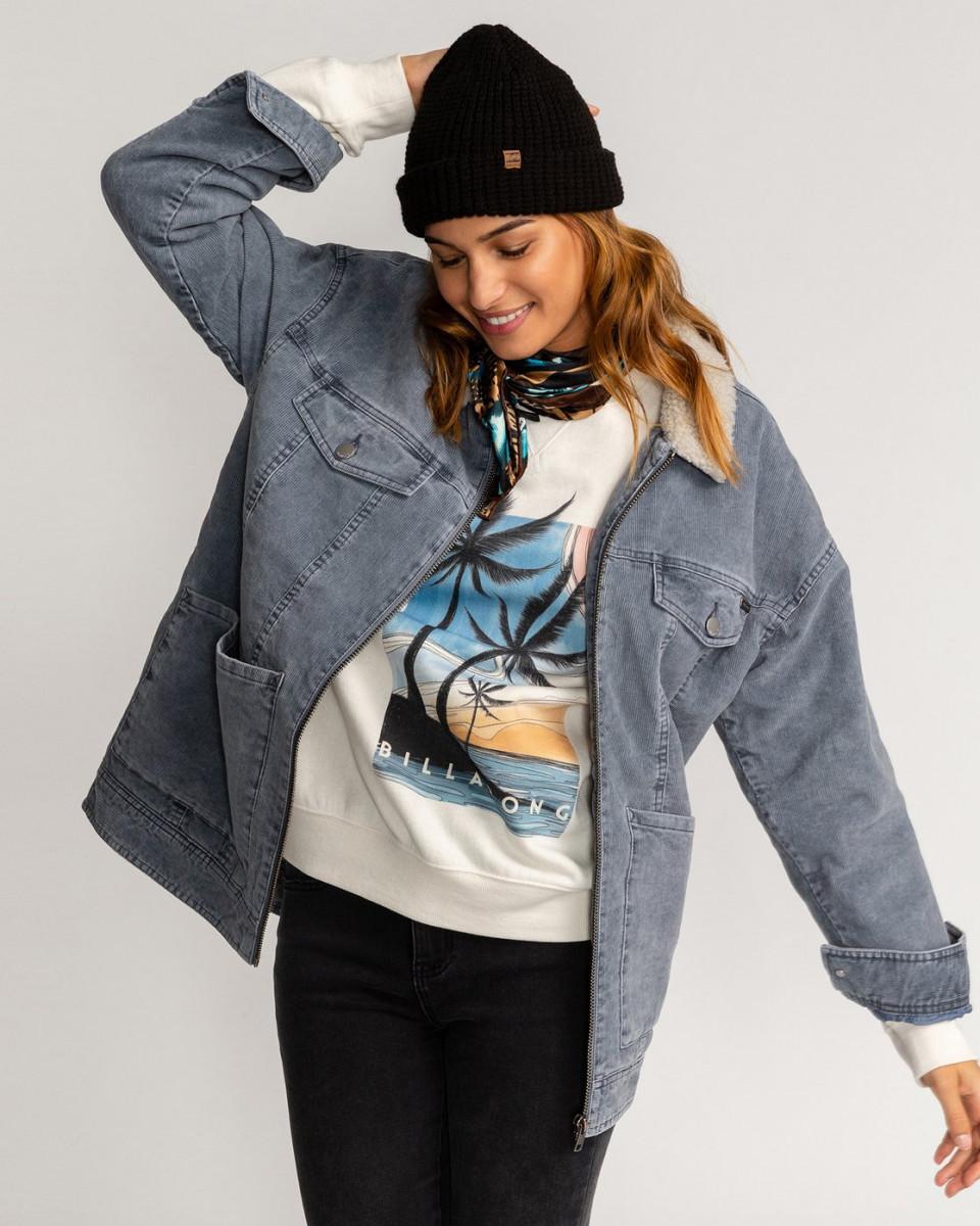 Вельветовая женская куртка Lovely