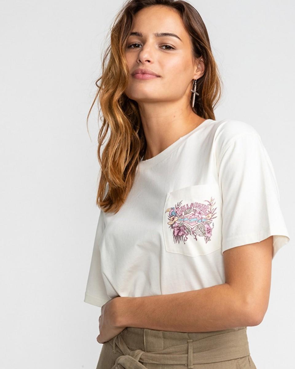Женская футболка Floral Source