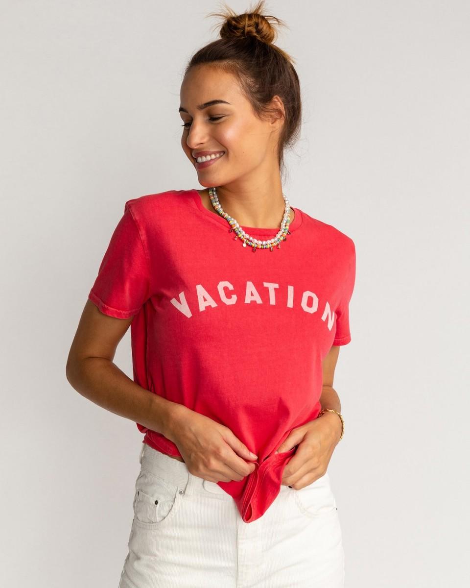 Женская футболка Vacation Vibrations