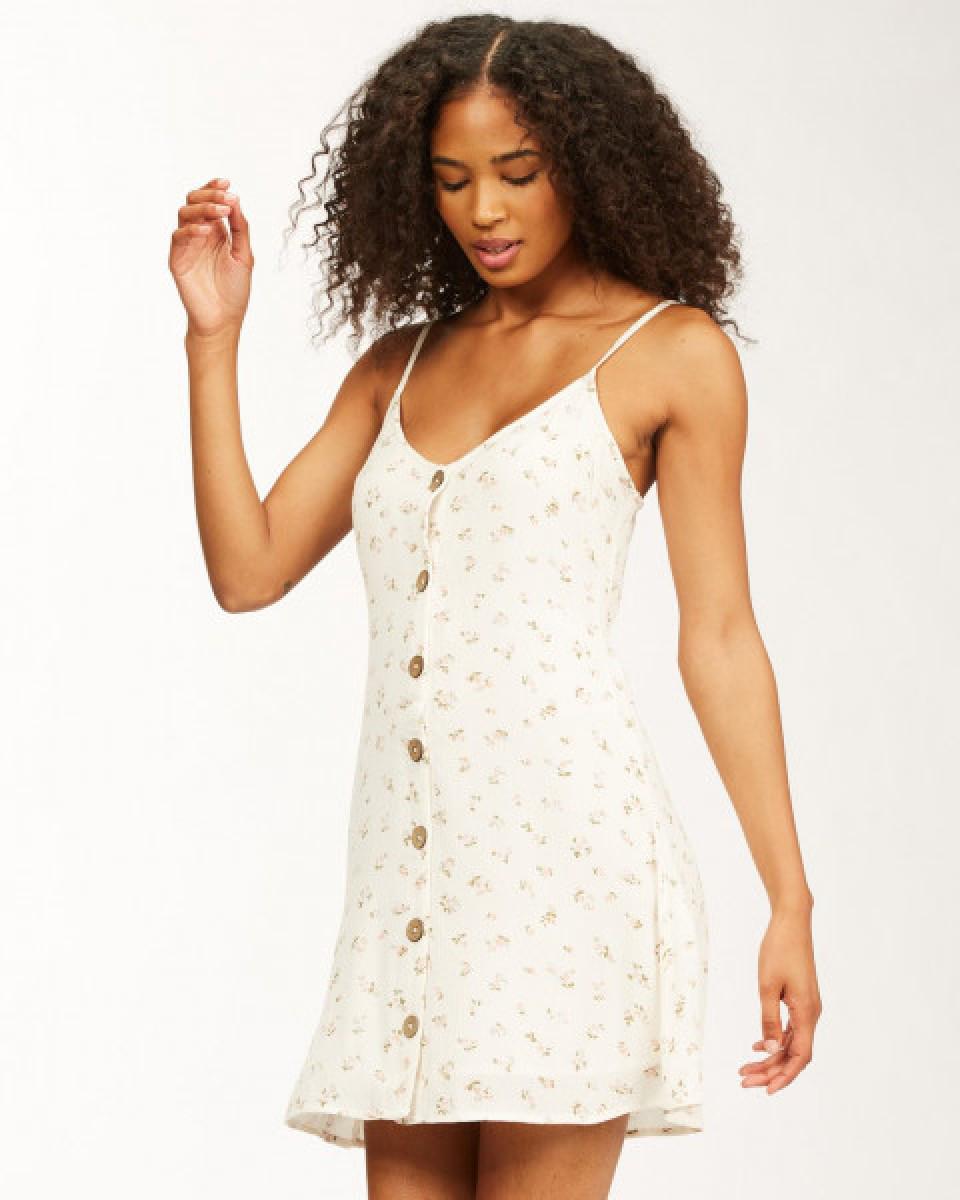 Женское мини-платье на лямках Sweet For Ya