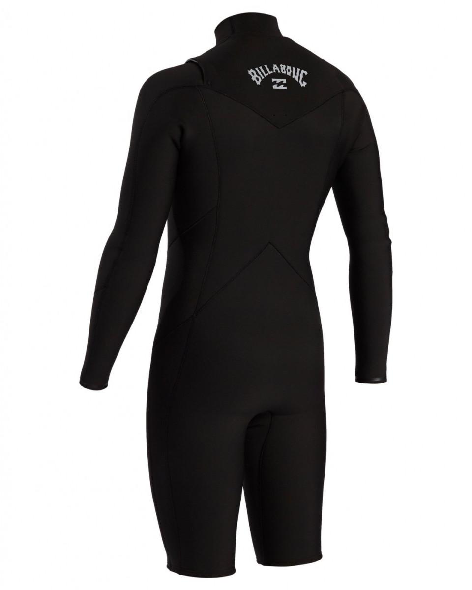 Мусжкой гидрокостюм с длинными рукавами, герметичными швами GBS и молнией на груди Absolute (2/2 мм)