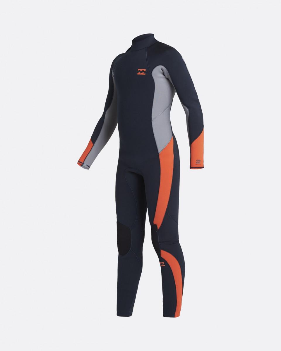 Детский гидрокостюм с молнией на спине Absolute GBS (5/4 мм)