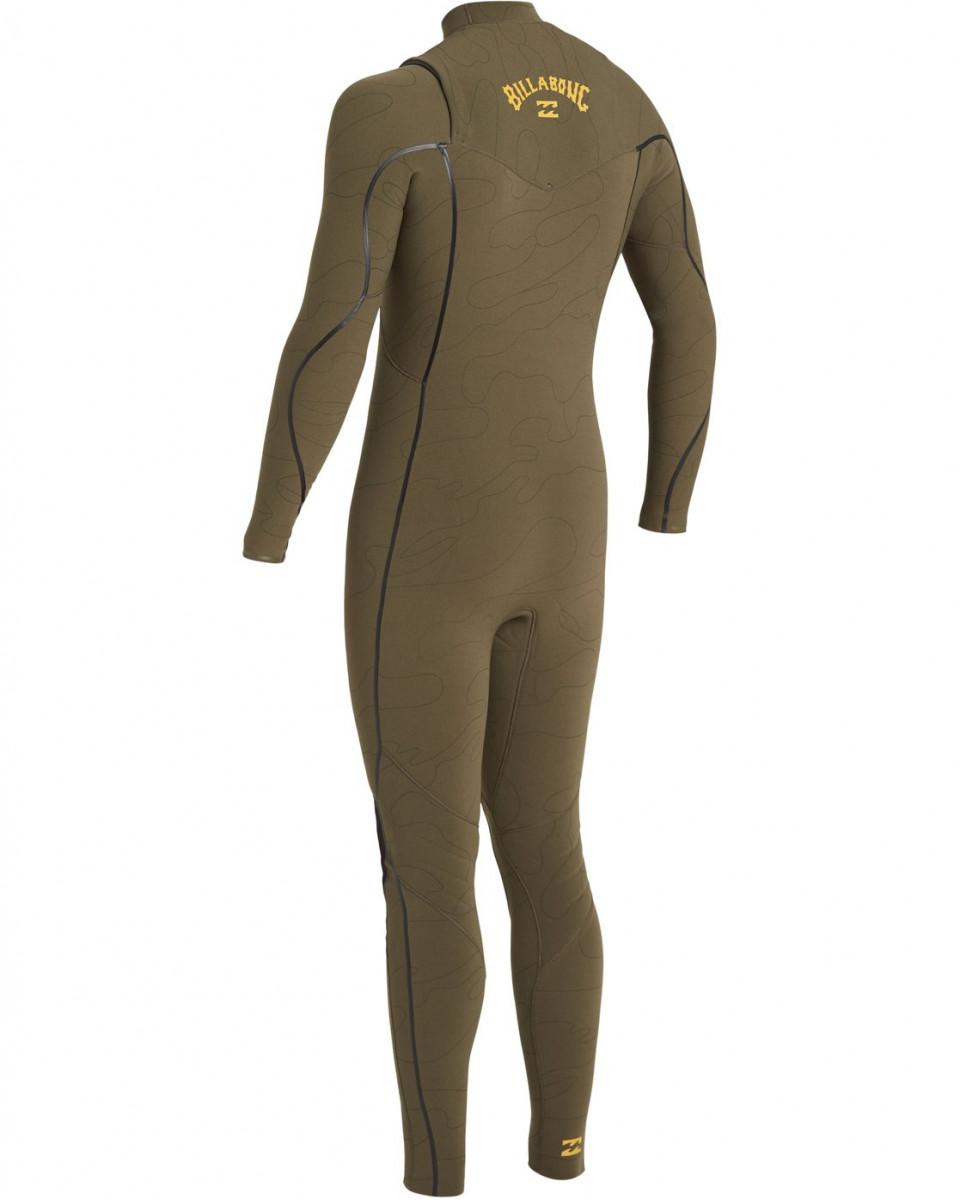 Мужской гидрокостюм с молнией на груди Furnace Comp GBS (4/3 мм)