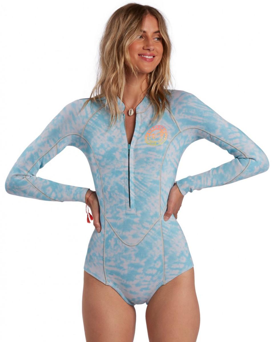 Женский гидрокостюм с длинными рукавами Surf Capsule Salty Dayz