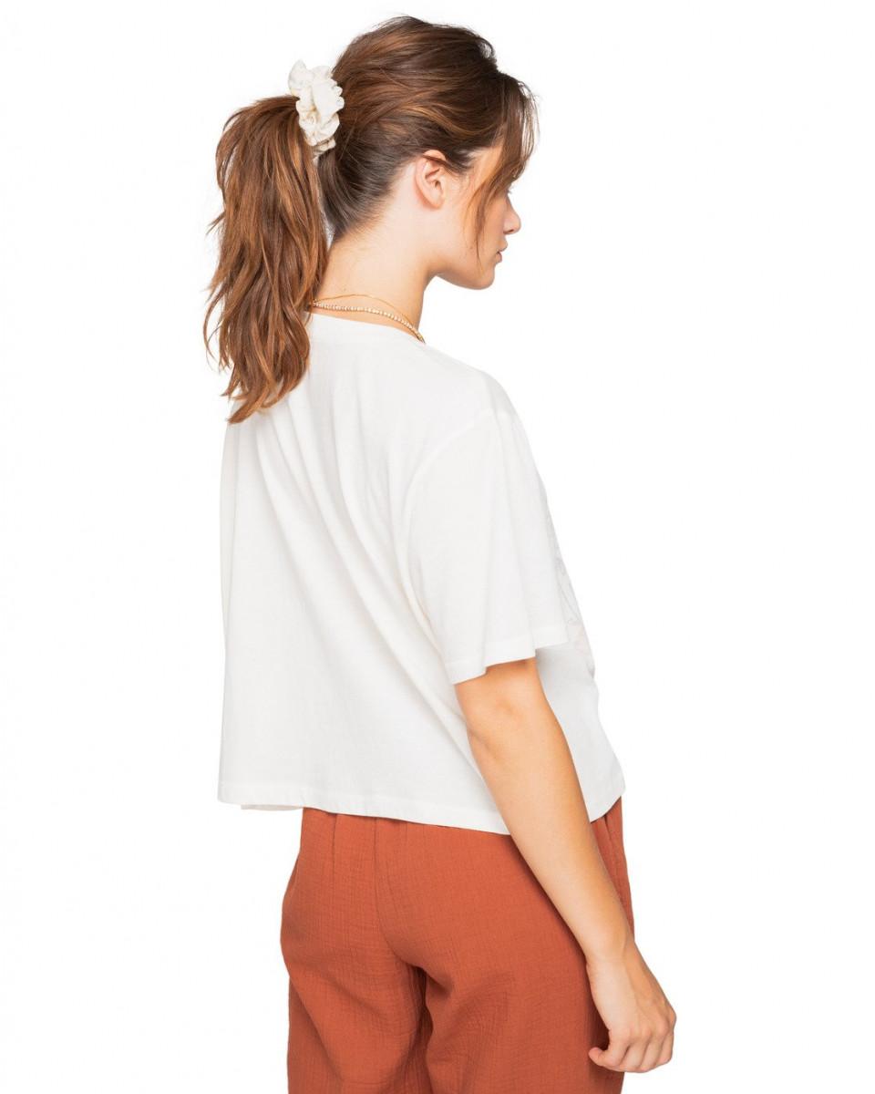 Женская укороченная футболка Spring Fellow